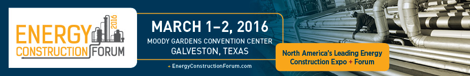 Energy Construction Forum 2016