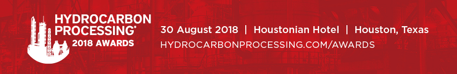 Hydrocarbon Processing Awards 2018
