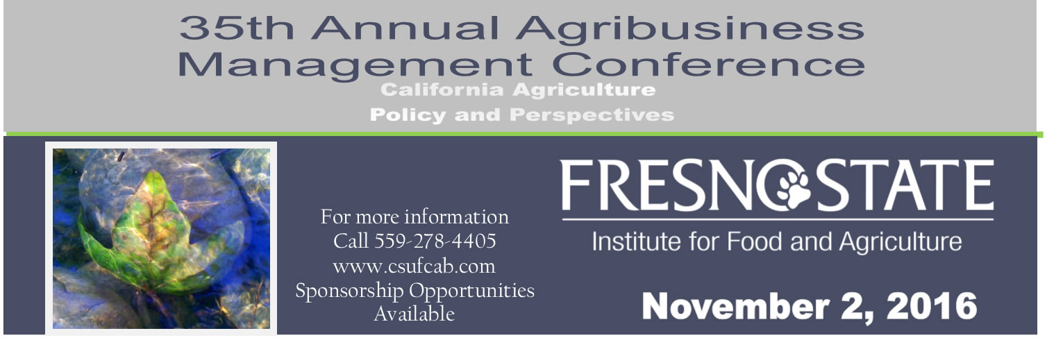 35th Annual Agribusiness Management Conference