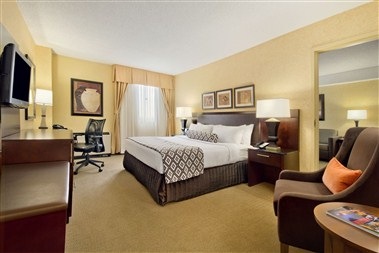 Executive King Suite Guestroom