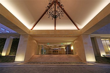 Main entrance to our conference center