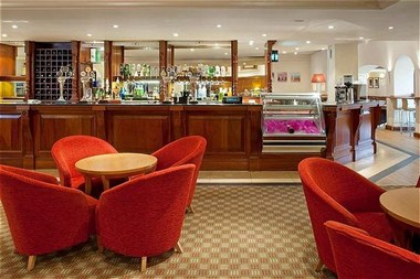 The Concorde Bar and Lounge Area