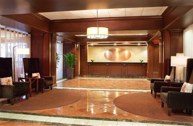 Crowne Plaza Atlanta Airport Lobby