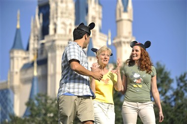 Attendees at Magic Kingdom