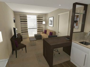 One Bedroom Suite - Lounge Area