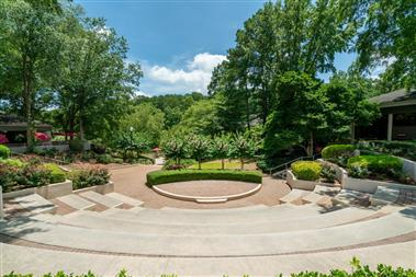 Outdoor Amphitheater-Set for Wedding