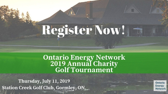 2019 Ontario Energy Network Annual Charity Golf Tournament