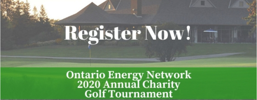 2020 Ontario Energy Network Annual Charity Golf Tournament
