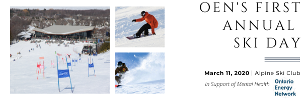 Ontario Energy Network's First Annual Ski Day