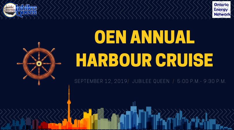 Ontario Energy Network's Annual Harbour Cruise Networking Evening