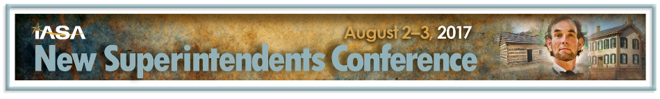 IASA New Superintendents' Conference - August 2-3, 2017