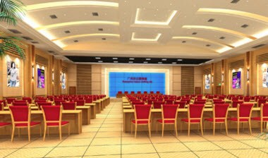 Multi-functional conference hall