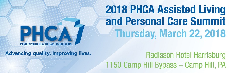 2018 PHCA Assisted Living and Personal Care Summit
