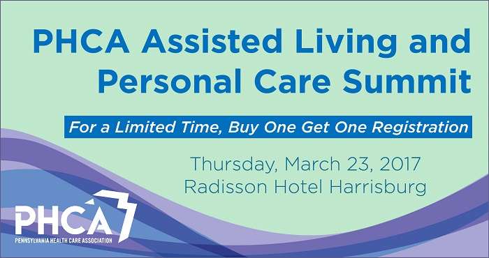 2017 PHCA Assisted Living and Personal Care Summit