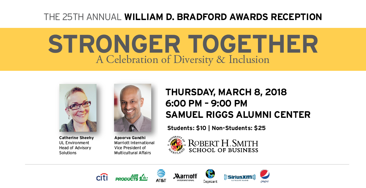 25th Annual William D. Bradford Awards Reception