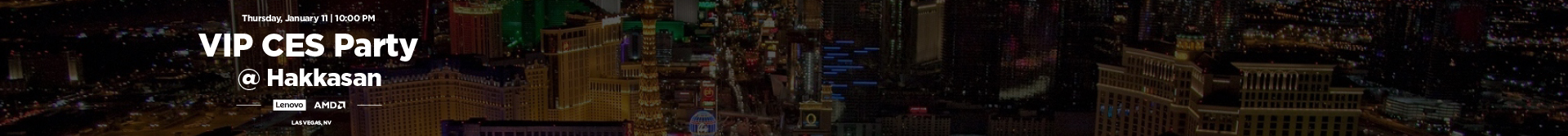 Lenovo EMEA CES Party