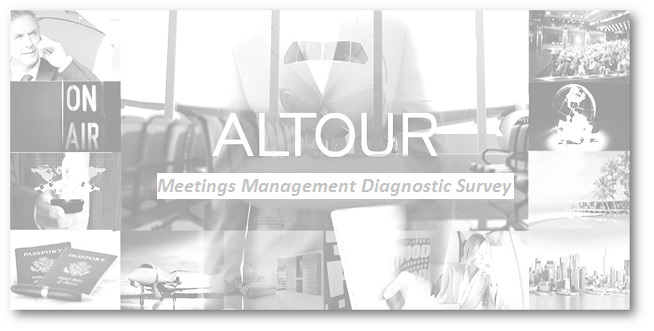 ALTOUR - Meetings Management Diagnostics Survey