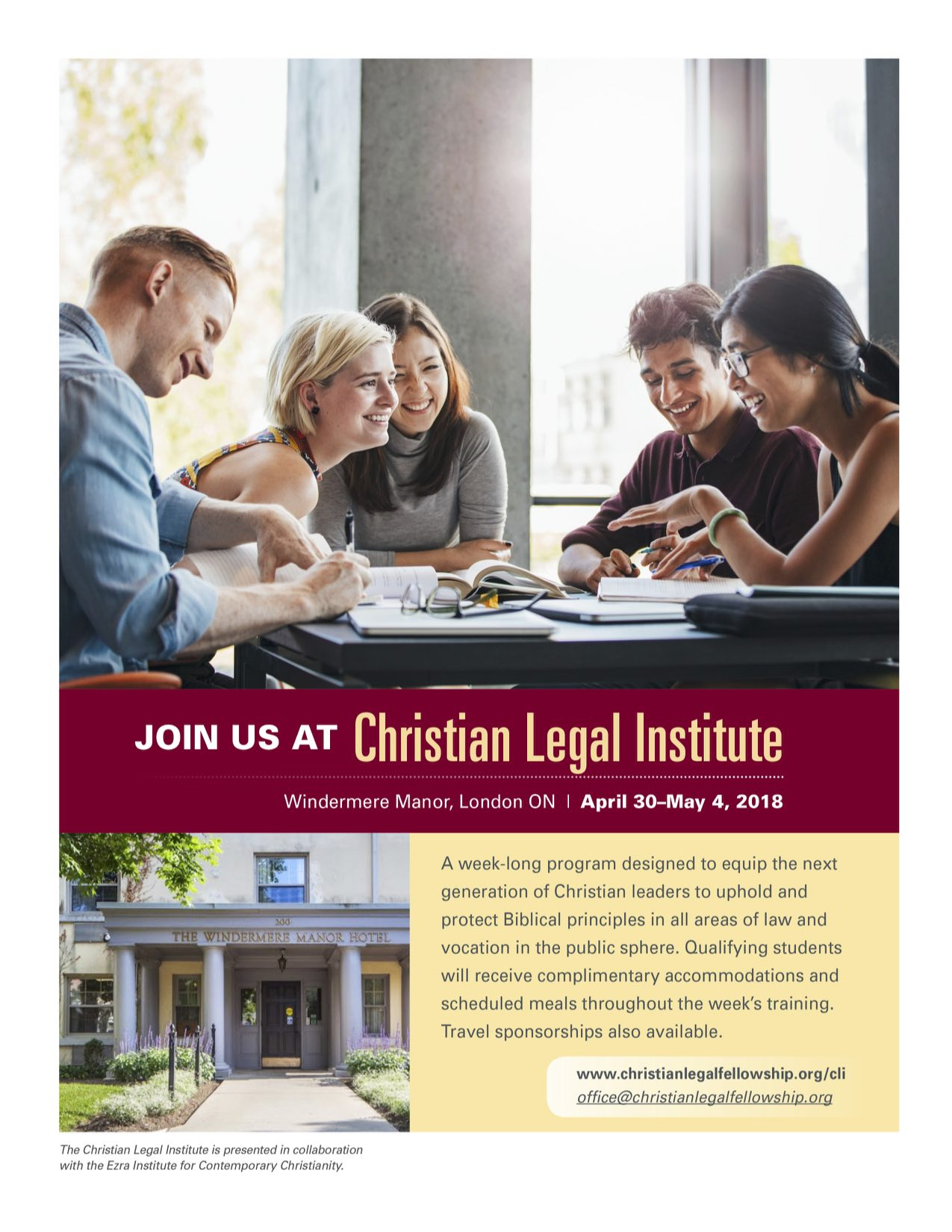 2018 Christian Legal Institute