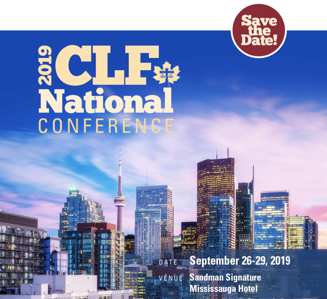 2019 CLF National Conference