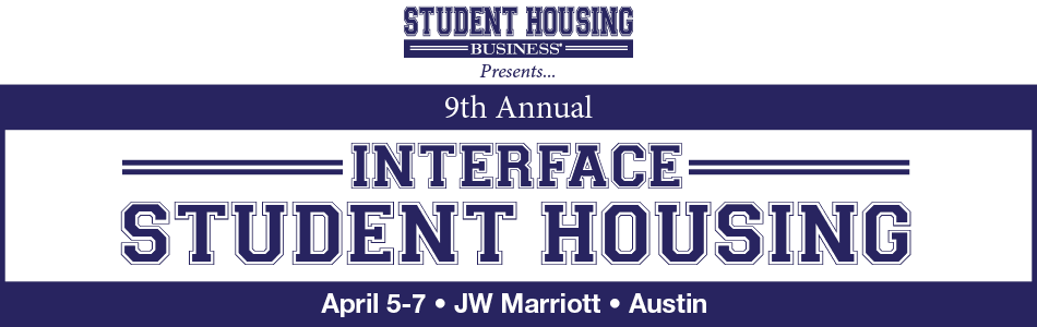 2017 InterFace Student Housing Conference