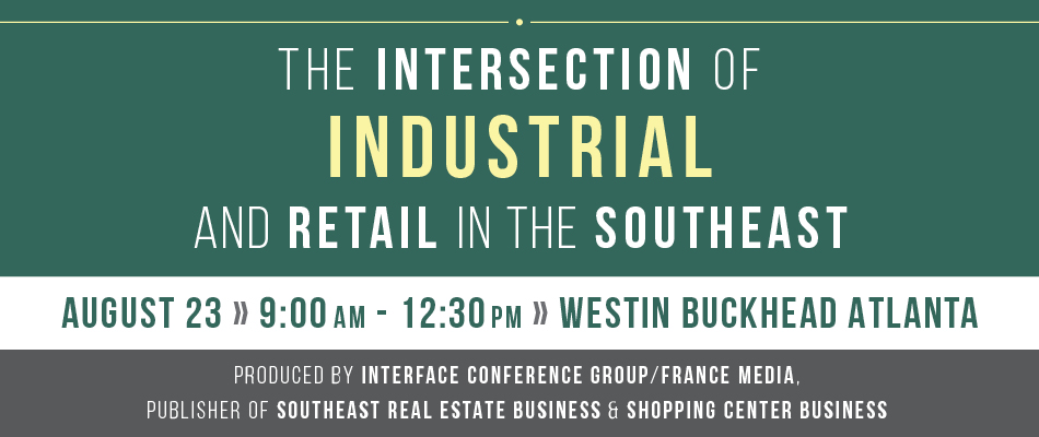 2018 The Intersection of Industrial and Retail in the Southeast