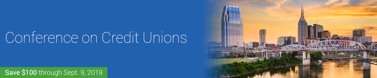 2019 Conference on Credit Unions - Group Sales