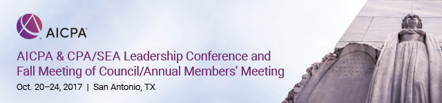 AICPA 2017 Fall Meeting of Council/Annual Members' Meeting