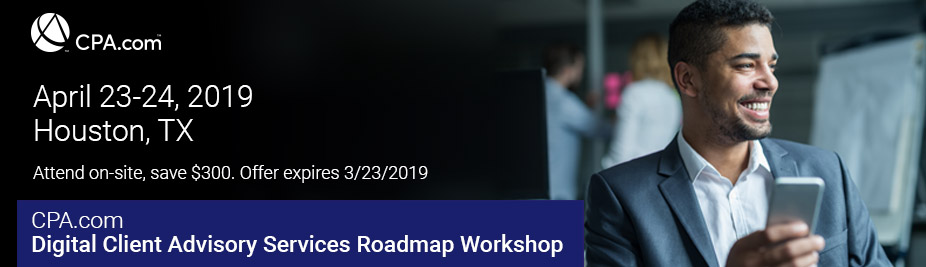 Digital Client Advisory Services Roadmap Workshop - April 2019