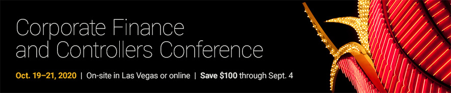 2020 AICPA  Corporate Finance and Controllers Conference - Group Sales