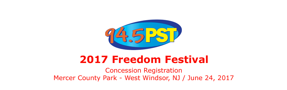 2017 Freedom Festival Concession Registration