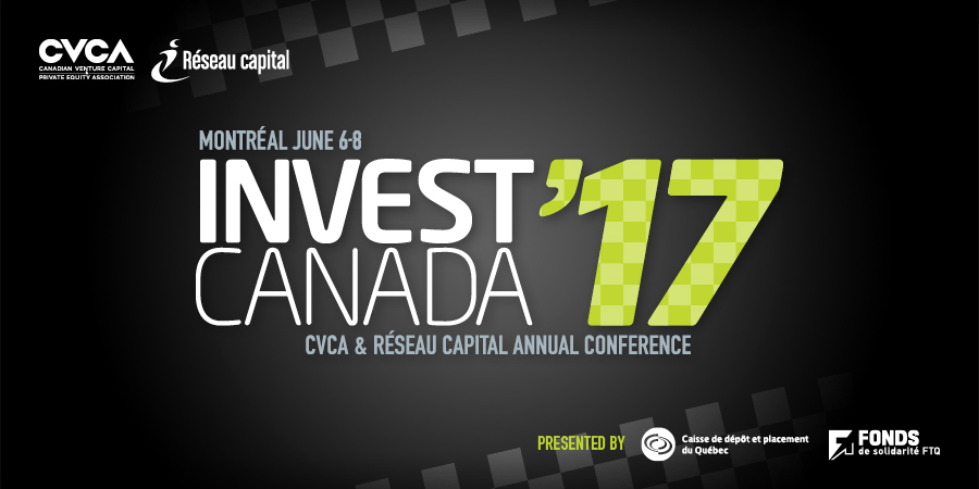 Invest Canada 17 Conference Group Registration