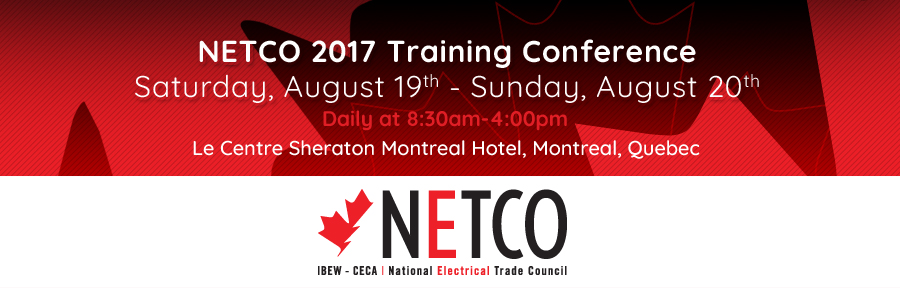 NETCO 2017 Training Conference