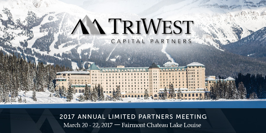 2017 Annual TriWest Limited Partners Meeting