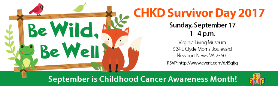 CHKD Survivor Day 2017: Be Wild Be Well!