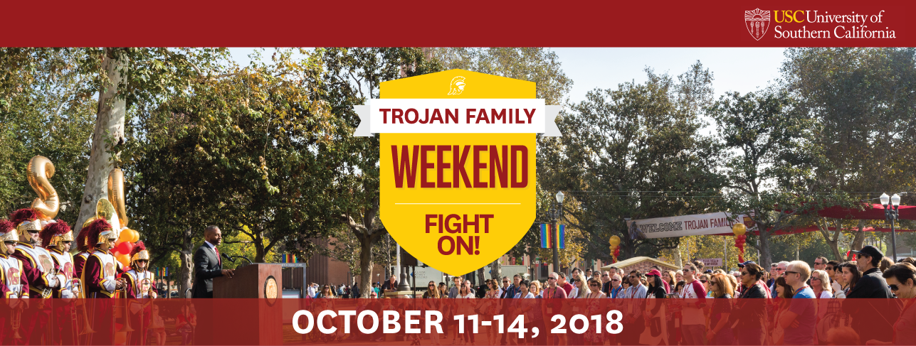 USC Trojan Family Weekend 2018