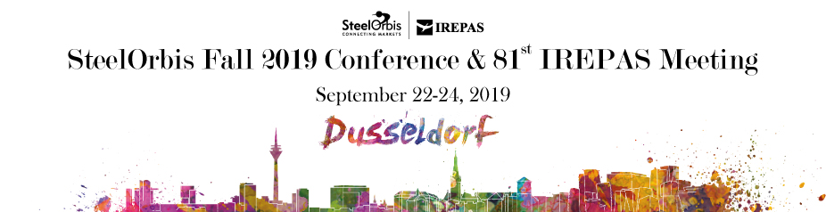 SteelOrbis Fall 2019 Conference & 81st IREPAS Meeting