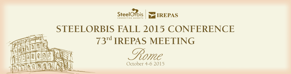 SteelOrbis Fall 2015 Conference & 73rd IREPAS Meeting