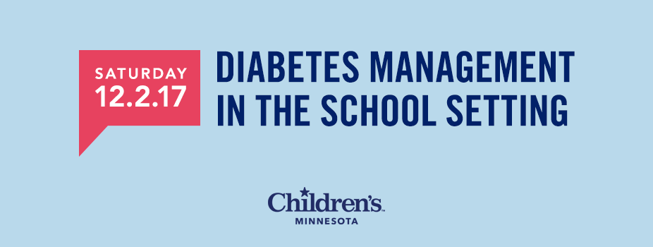 2017 Diabetes Management in the School Setting