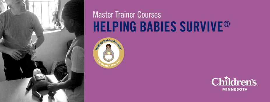 Helping Babies Survive Master Trainer Course