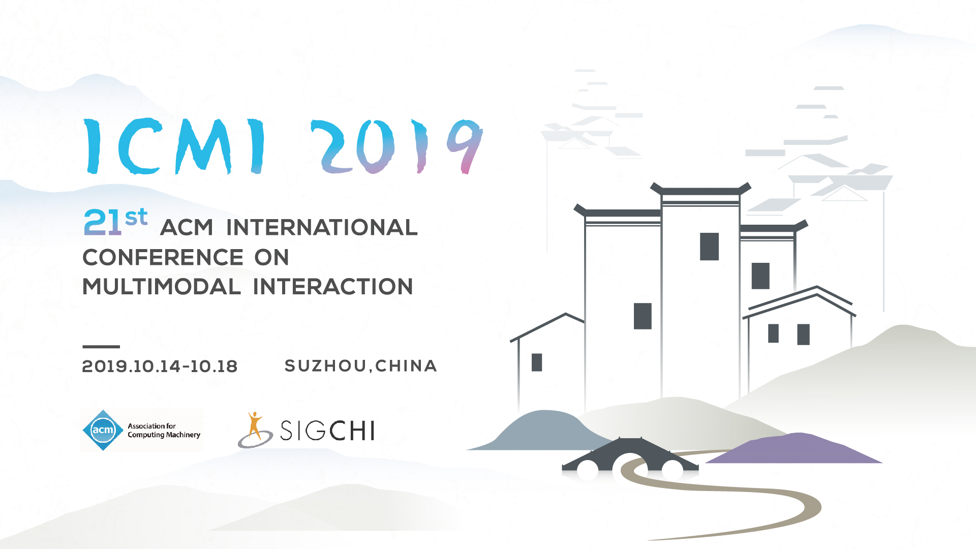 ICMI 2019 - International Conference on Multimodal Interaction