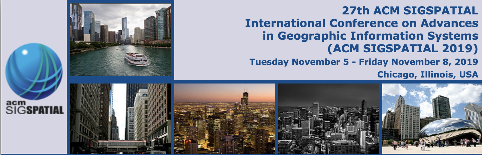 ACM SIGSPATIAL 2019 - 27th ACM SIGSPATIAL International Conference on Advances in Geographic Information Systems