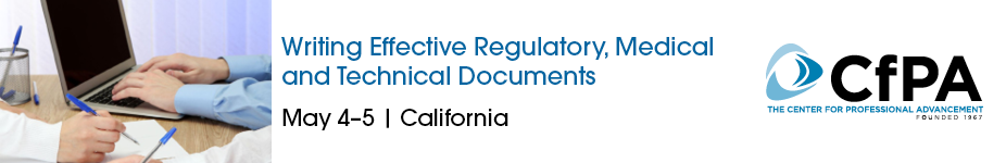 Writing Effective Regulatory, Medical and Technical Documents