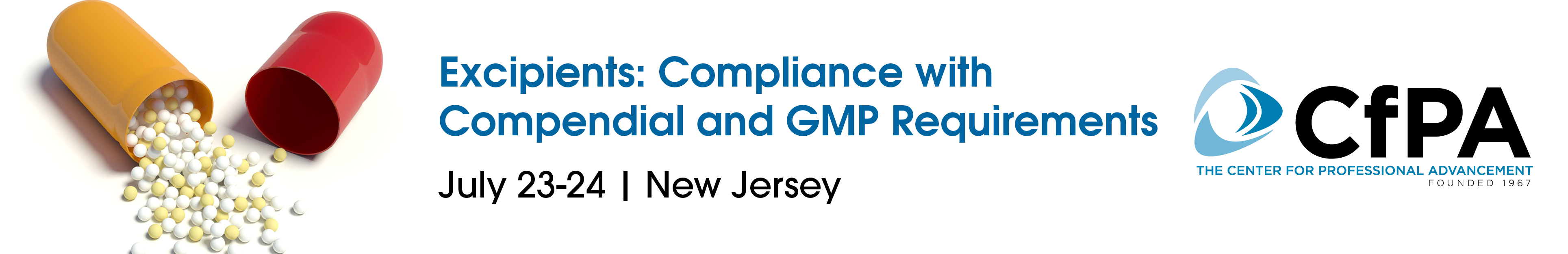 Excipients: Compliance with Compendial and GMP Requirements