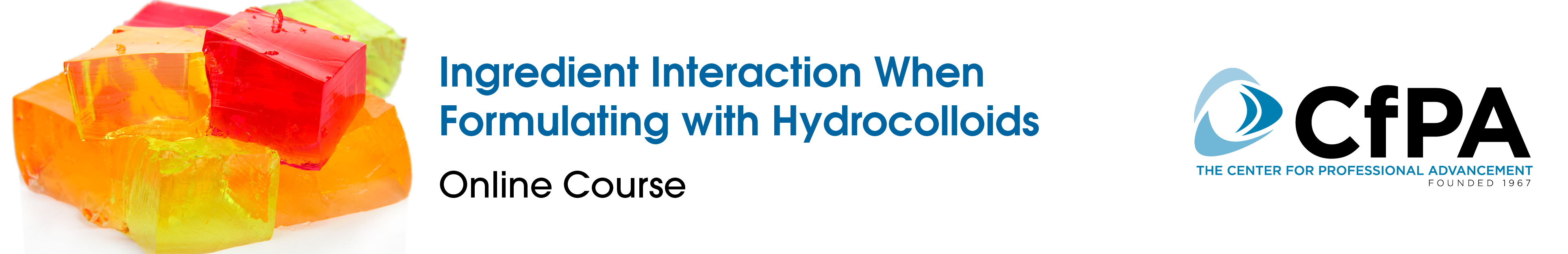 Ingredient Interaction When Formulating with Hydrocolloids