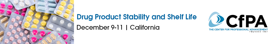 Drug Product Stability and Shelf-Life