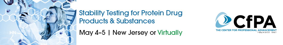 Stability Testing for Protein Drug Products & Substances
