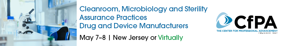Cleanroom, Microbiology and Sterility Assurance Practices