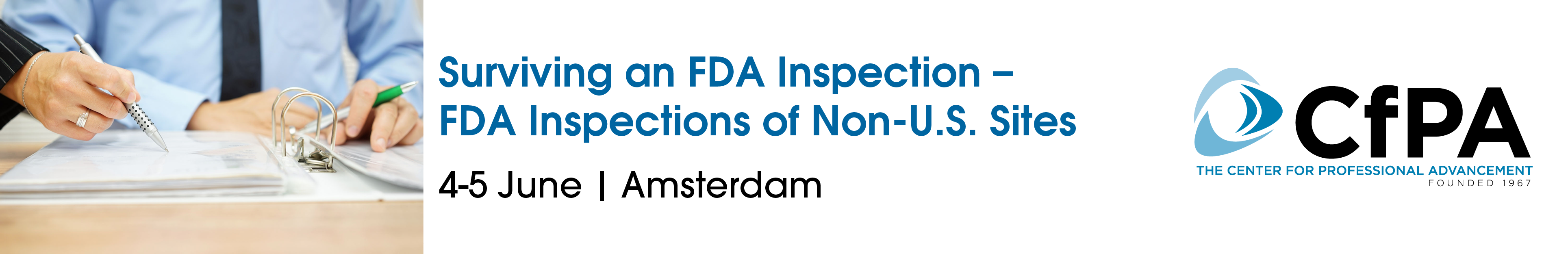 Surviving and FDA Inspection-FDA Inspections of Non-US Sites