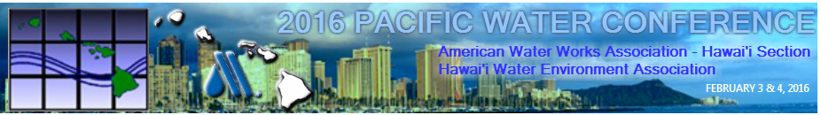 2016 Pacific Water Conference