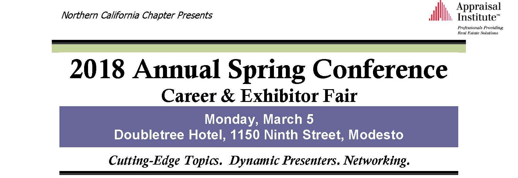 2018 Annual Spring Conference